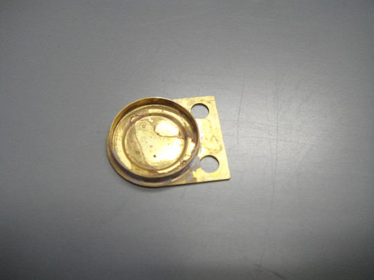 真鍮のスポット溶接